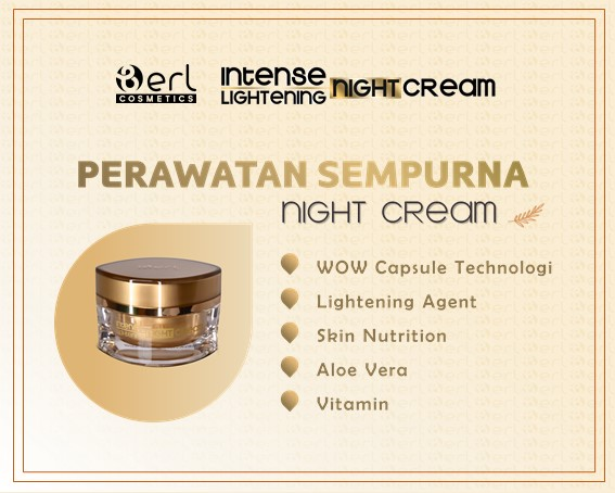 Satuan B Erl Night Cream